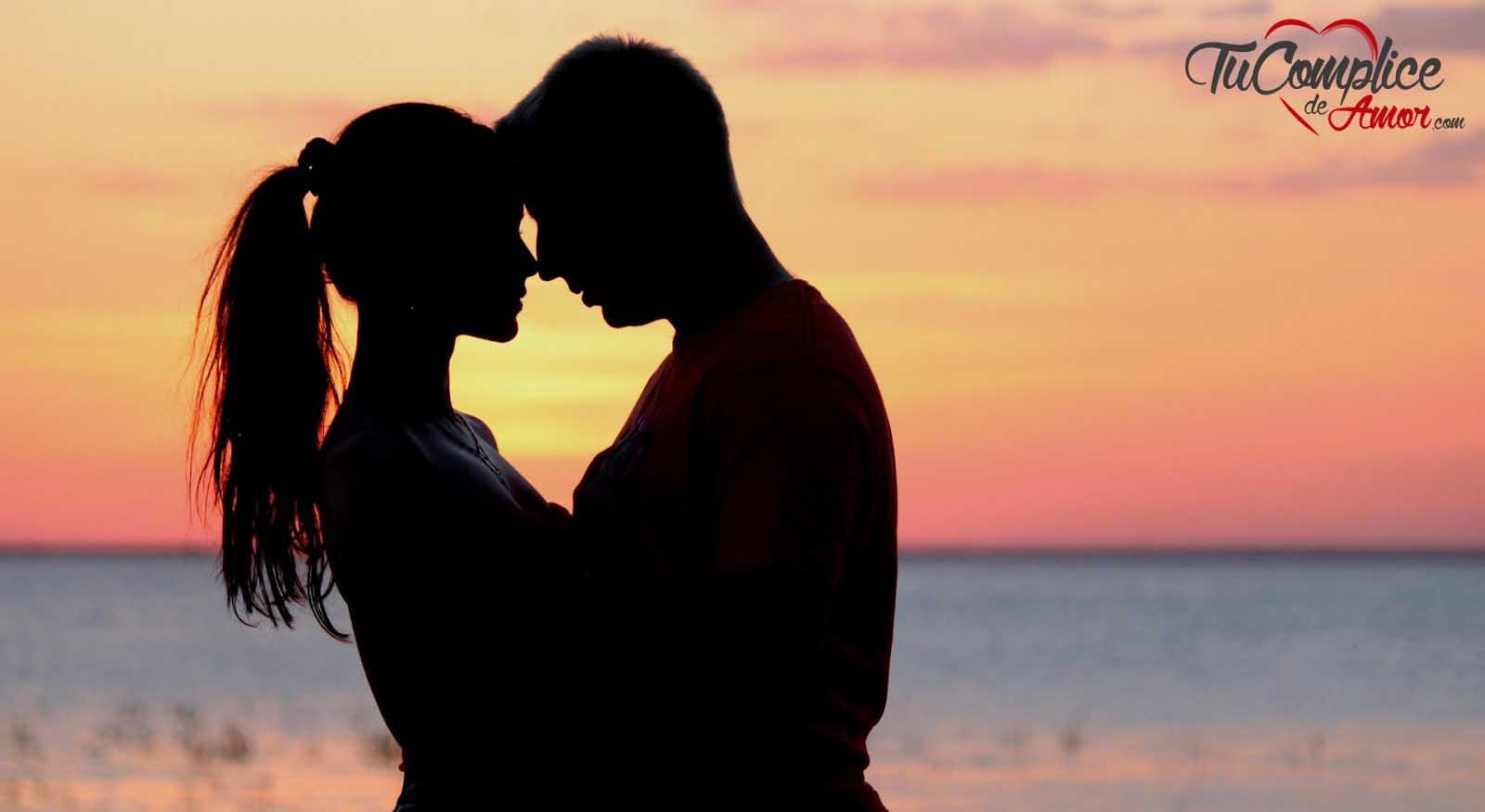 enamorados hombre y mujer