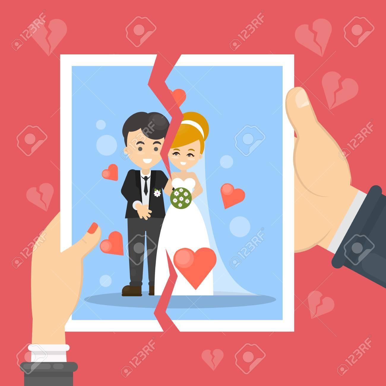 mujer se divorcie del hombre