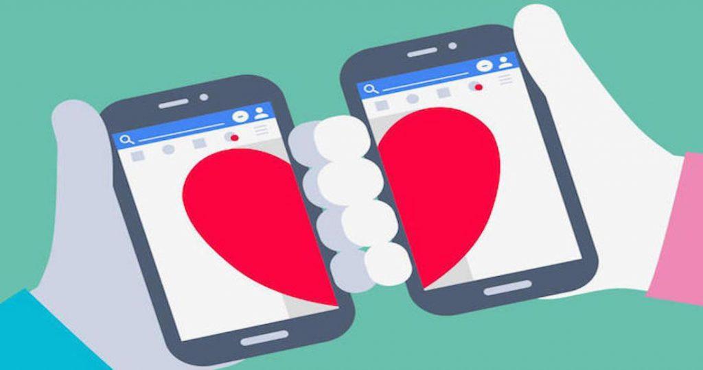 pareja en la web