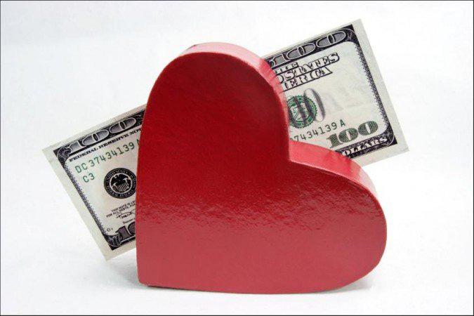 amor por dinero