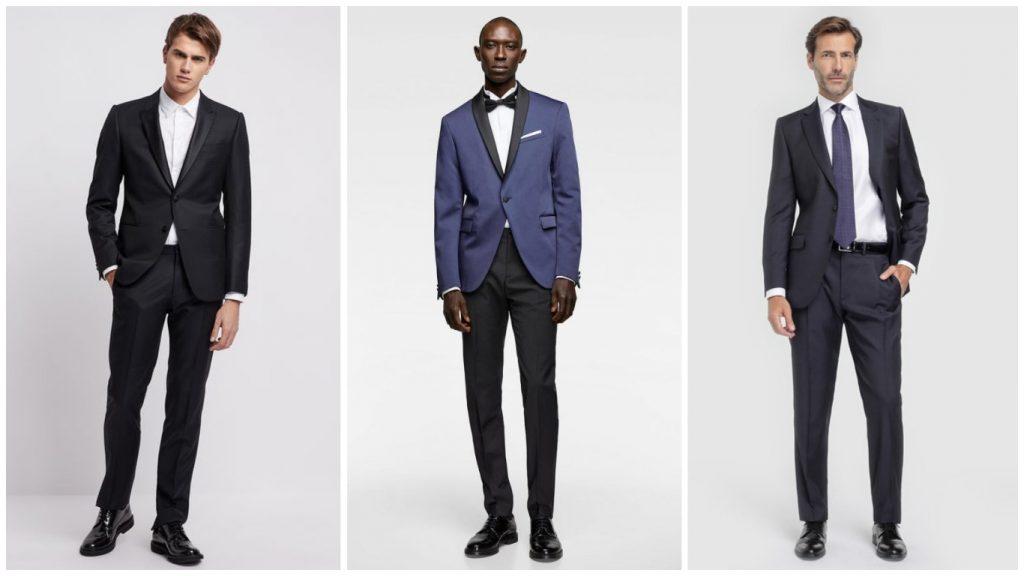 ropa elegante para hombres