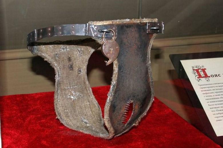 ¿Qué es un cinturón de castidad?