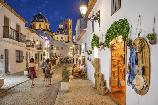 vacaciones románticas en España